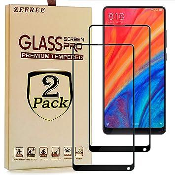 ZEEREE [2 Unidades] para Xiaomi Mi Mix 2S Protector de Pantalla ...