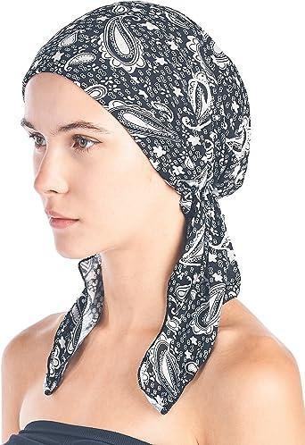 White Printed Bandanna Mens Womens Neck Scarf Head Wear Cotton Bandanna One Size
