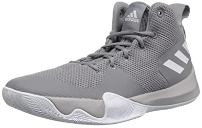 finest selection baa6e ef3c5 adidas Men s Explosive Flash Basketball Shoe, Grey Three Fabric, FTWR White,  Grey Two