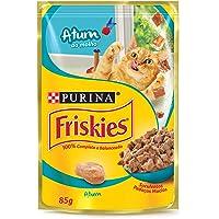 Nestlé Purina Friskies Ração Úmida Para Gatos Adultos Atum Ao Molho 85G