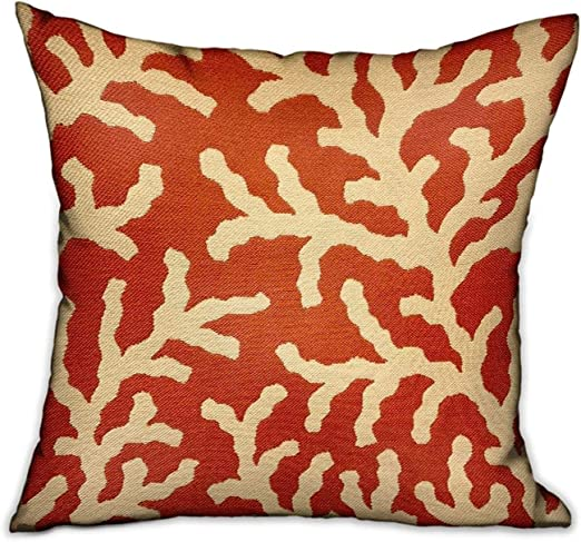 The Pillow Collection Vlora Polka Dots Red King//20 x 36