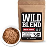 Wild Mushroom Blend of 5X Mushrooms Superfood Powder Blends for Smoothies, Shakes, Coffee, Baking - Health, Performance, Nootropic Mental Performance (Power Shrooms 4 oz)