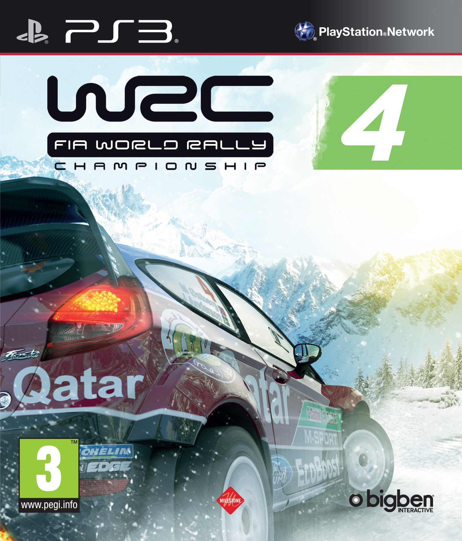 WRC 4: World Rally Championship (PS3) (UK)