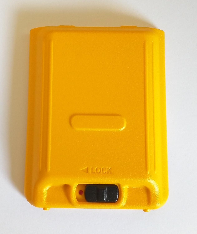 CB7191000 Motorola Solutions EVX-S24 Replacement Yellow Battery Door Motrola