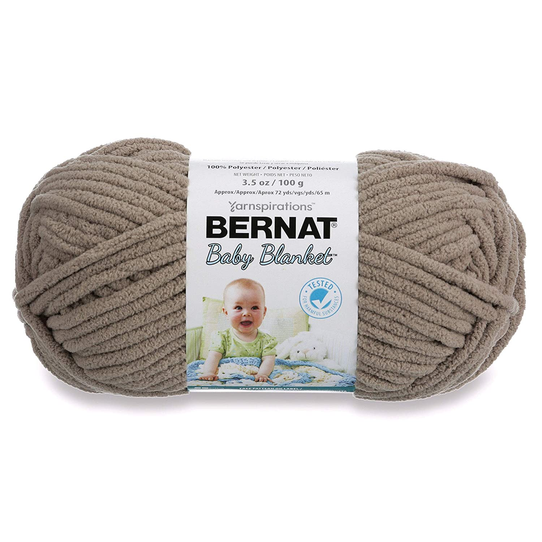 Bernat 16110303738 Baby Blanket Yarn, Sail Away Spinrite