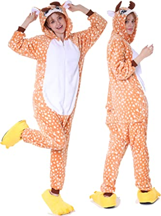 Adult Animal Onesie0 Cow Costume Unisex Kigurumi Pajamas Cosplay for Women Men