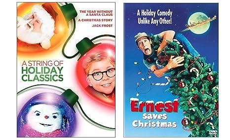 Ernest Saves Christmas Santa.Amazon Com Ernest Saves Christmas A String Of Holiday