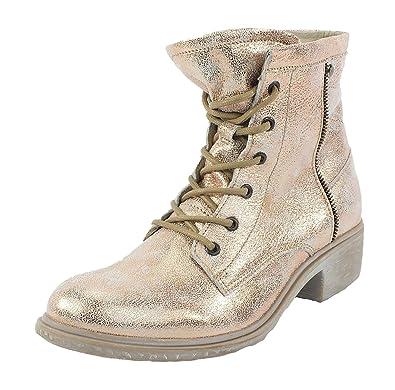 Leder Stiefelette Boots Rose Metallic Gr. 41 Maca Kitzbühel Besuchen Zu Verkaufen Bester Platz qyrlT