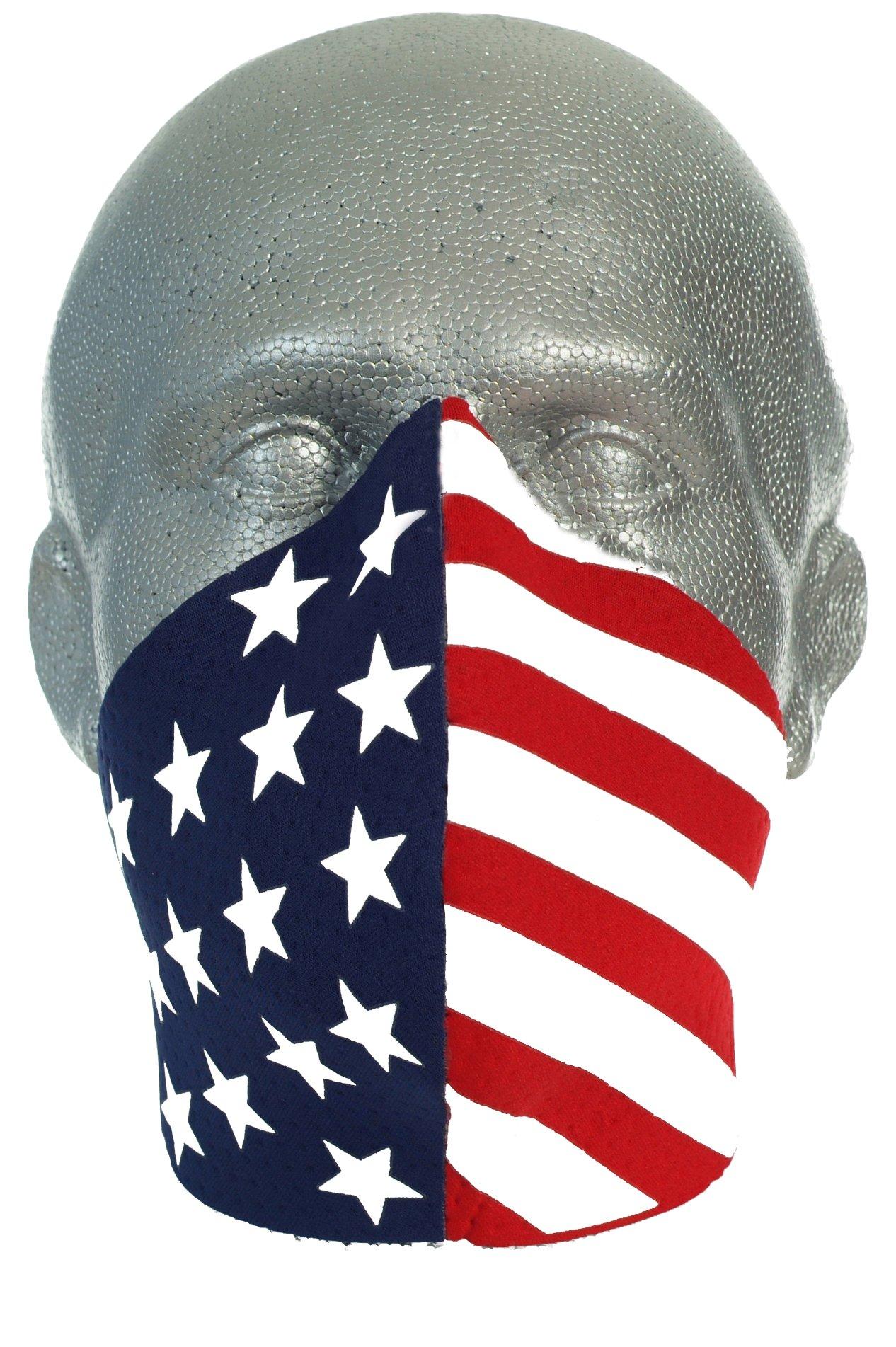 Bandero Biker Mask Patriot