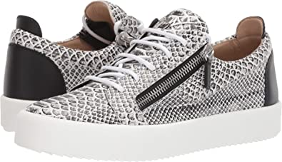 1cae3c4b86f4 Giuseppe Zanotti Men s May London Textured Low Top Sneaker Roccia 41 ...