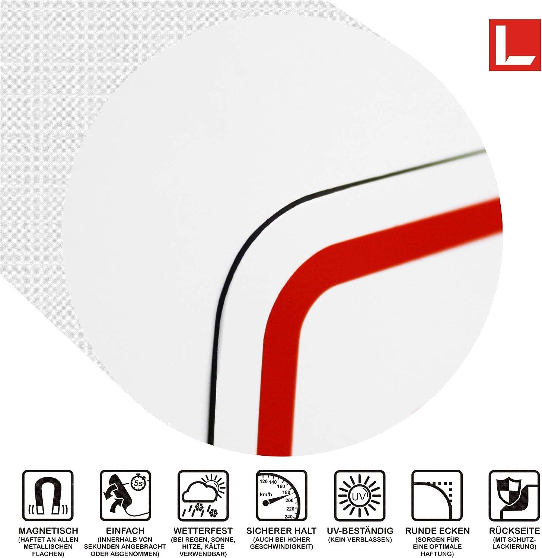 Schild magnetisch LOHOFOL Magnetschild EINSATZLEITUNG 35 x 10 cm mehrere Gr/ö/ßen