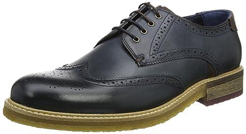 Ted Baker Prycce, Zapatos de Cordones Oxford Para Hombre, Gris (Grey), 42 EU