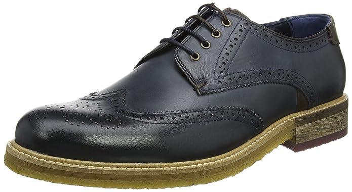 Ted Baker Prycce, Zapatos de Cordones Oxford Para Hombre, Marrón (Tan), 45 EU