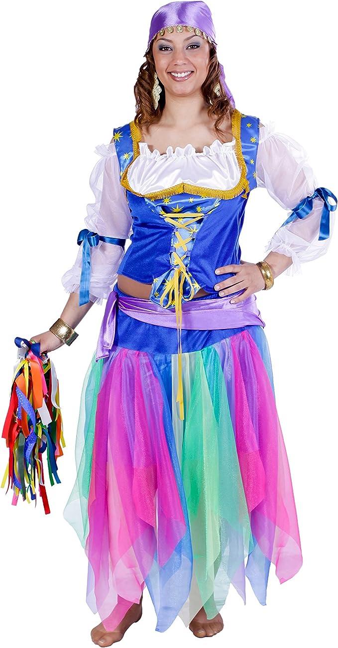 Disfraz de zíngara - Estándar: Amazon.es: Ropa y accesorios