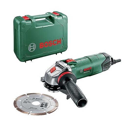 31 opinioni per Bosch PWS 750-115 Smerigliatrice Angolare, Sistema Dust Protection, Valigetta