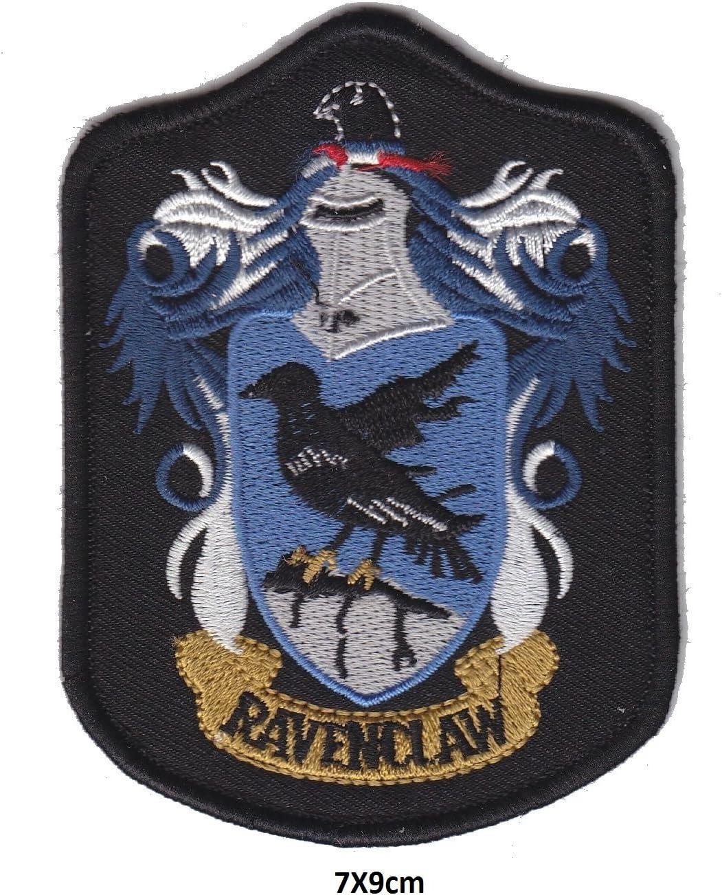 Harry Potter Ravenclaw BB Crest logo símbolo negro azul | bordado ...
