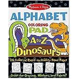 Melissa & Doug Colouring Pad - Dinosaurs Alphabet Sticker Sets & Activity Pads
