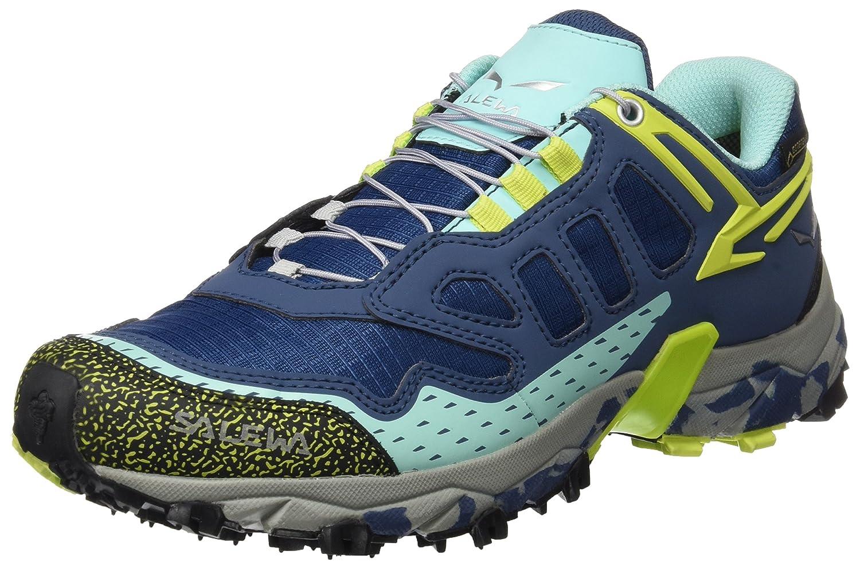 Salewa Women's Ultra Train GTX-W Trail Running Shoe B07176BYFJ 5.5 B(M) US|Blue