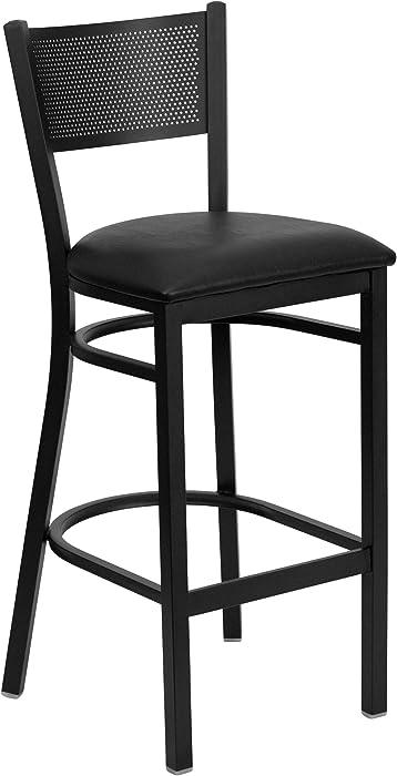 Updated 2021 – Top 10 Flash Furniture Metal Barstool With Swivel Bucket Seat