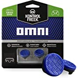 KontrolFreek Omni for Xbox One and Xbox Series X Controller | 2 Performance Thumbsticks | 2 Low-Rise Concave | Blue