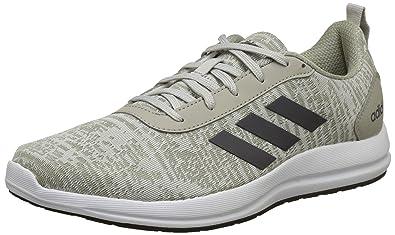 half off 93736 1cff8 Adidas Men s Videll Silvmt Sesame Grefiv Running Shoes-9 UK India (
