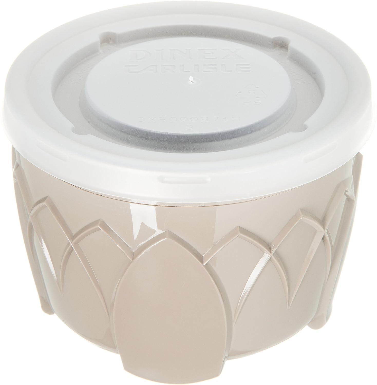 3.5 Length Latte 3-1//2 Diameter x 2-1//2 Height Pack of 48 3.5 Width Capacity 10.5 Height 3-1//2 Diameter x 2-1//2 Height 3.5 Length 3.5 Width 10.5 Height Carlisle DX520031 Fenwick Urethane Foam Insulated Bowl 5 oz