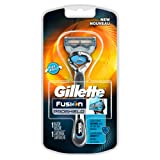 Amazon Price History for:Gillette Fusion ProShield Chill Men's Razor with Flexball Handle and Razor Blade Refill