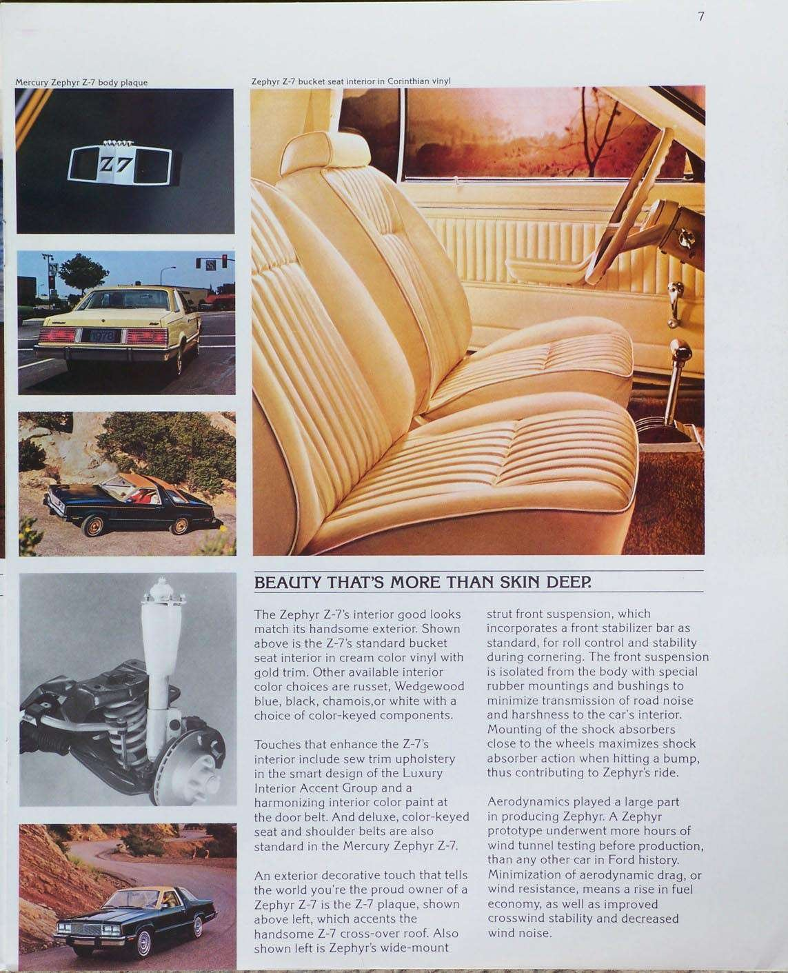Amazon.com : 1978 MERCURY ZEPHYR VINTAGE COLOR SALES BROCHURE - 78-204R (REVISED) - EXCELLENT ORIGINAL - USA!! : Other Products : Everything Else