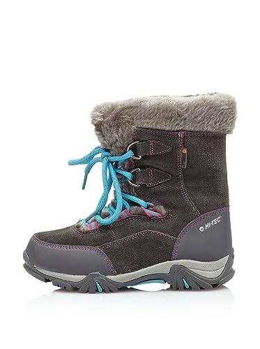 Moritz 200 Junior Brown Waterproof Winter Warm Walking Boots Shoes Hi-Tec St