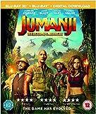 Jumanji: Welcome To The Jungle [Blu-ray 3D] [2017]