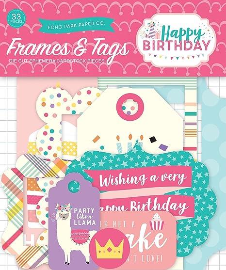 Amazon.com: Echo Park Paper Company Happy Birthday Girl ...