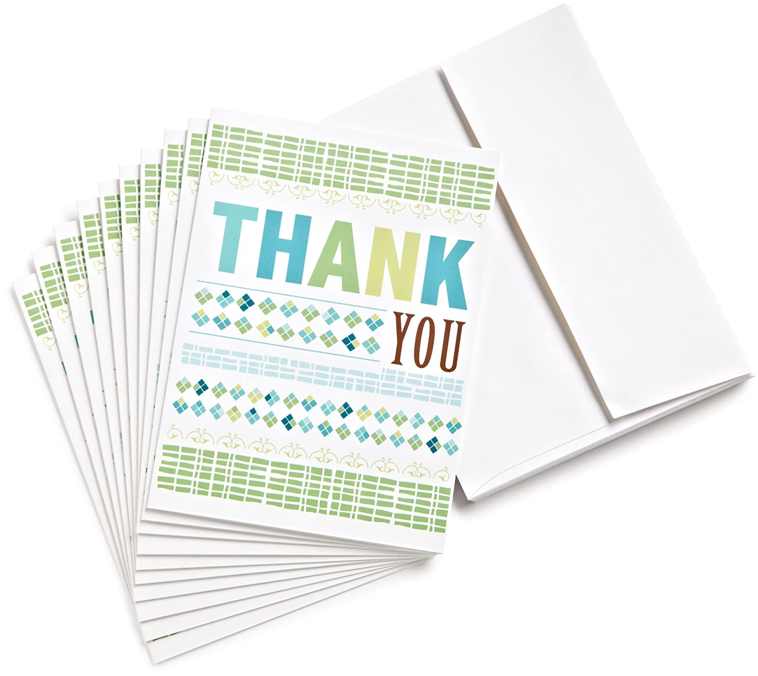 Amazon.com $100 Gift Cards, Pack of 10 with Greeting Cards (Thank You Design)