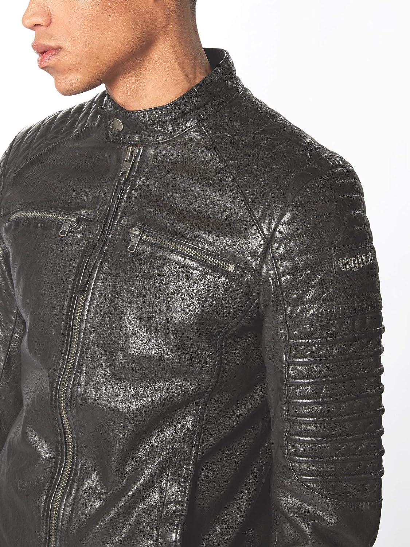 TIGHA Boas Lederjacke Größe: S Farbe: Black Farbschema