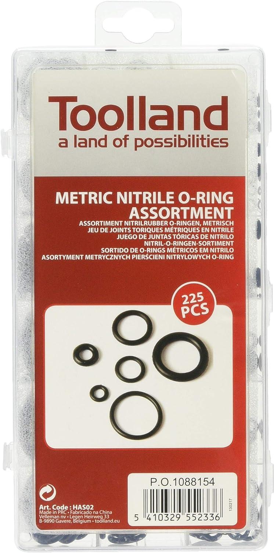 Perel Has02 O Ring Sortiment Metrisch Nitrilkautschuk 225 Tlg Baumarkt