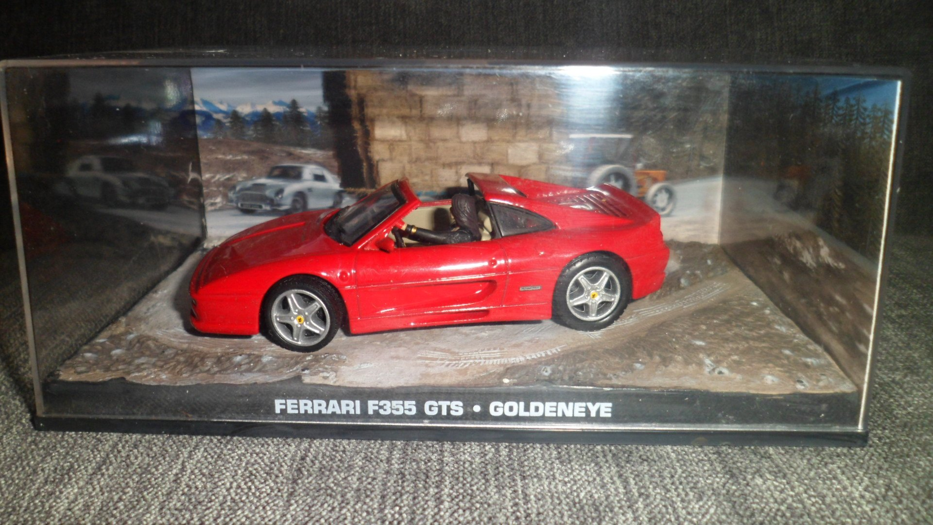 James Bond 007 Goldeneye Red Ferrari F355 Gts Film Scene Car 1 43 Scale Diecast Model Buy Online In Guernsey At Guernsey Desertcart Com Productid 66477883