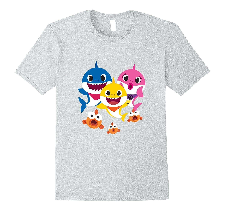 a0bb4b525 Pinkfong Baby Shark family t-shirt-alottee gift - Alottee