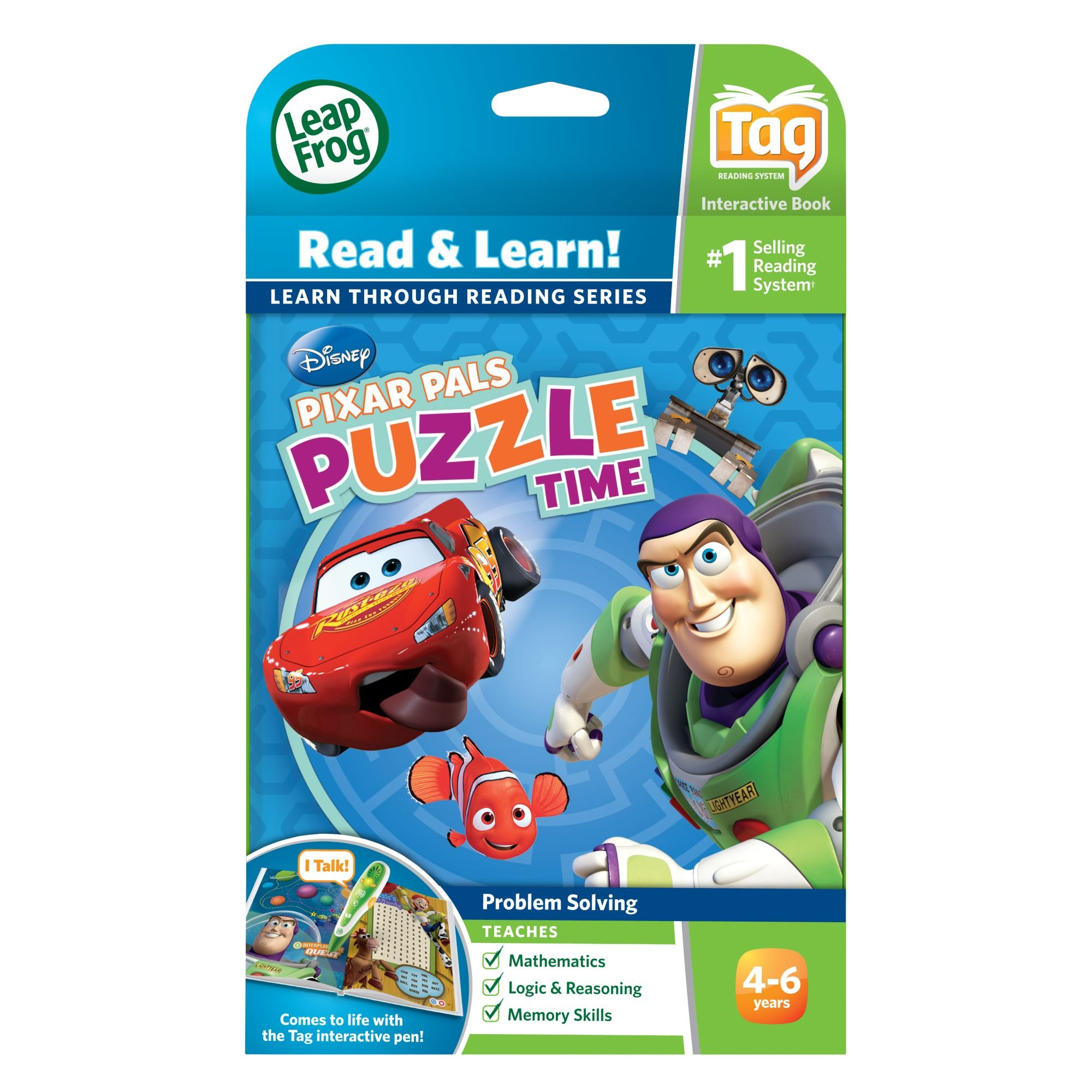 LeapFrog Tag Game Book: Pixar Pals Puzzle Time by LeapFrog (Image #4)