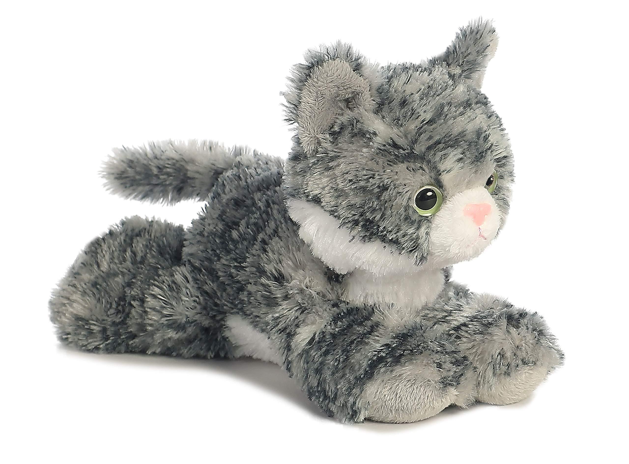 """Aurora - Mini Flopsie - 8"""" Lily, Grey/White, Small (6-14 in)"""