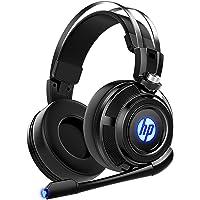 HP Auriculares estéreo para Videojuegos con micrófono, para PS4, Xbox One, Nintendo Switch, PC, Mac, portátil, audífonos…