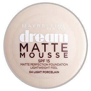 Maybelline Dream Matte Mousse fondation de la perfection - porcelaine lumière