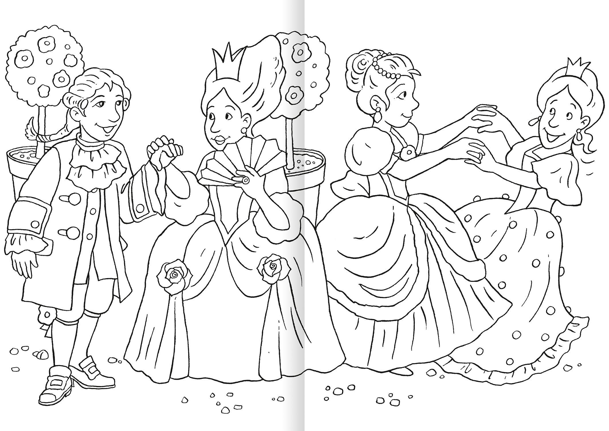 Malbuch ab 3 Jahren - Prinzessin: Amazon.de: Helge Glatzel-Poch: Bücher