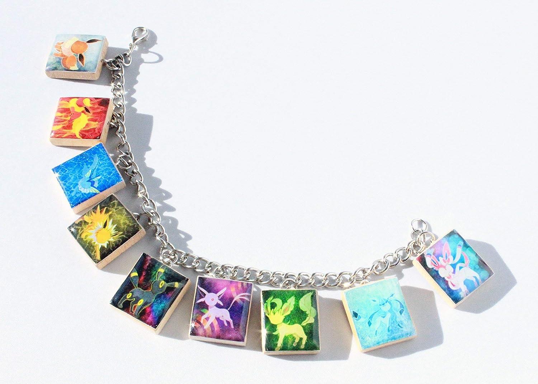 Pokemon Inspired Eeveelution Inspired Charm Bracelet