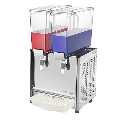 PrimeMatik JU012-VCES Máquina dispensadora de zumos y Bebidas frías y Calientes para Uso Comercial