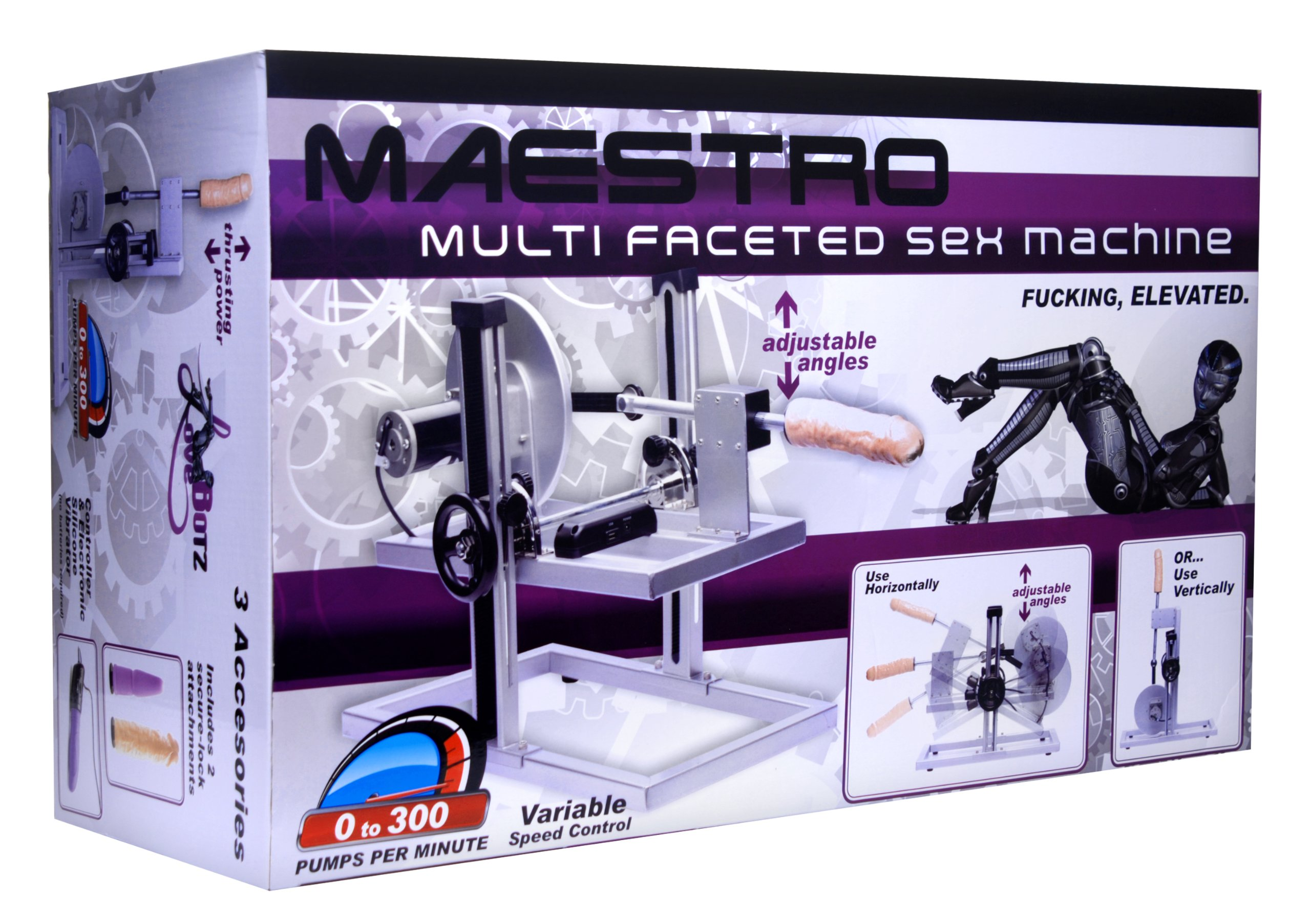Lovebots Maestro Multi-faceted Sex Machine by LoveBots