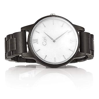 Männer Holzuhr Schweizer 121 42mm Herren Mit Uhrwerk Cari Athen Armbanduhr Holz n0wPkO