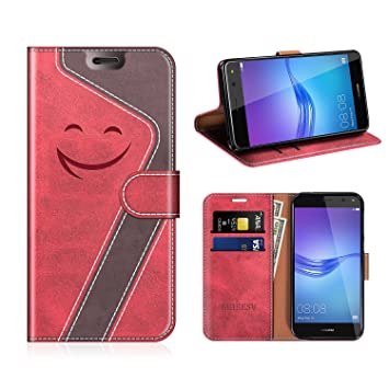coque portefeuille huawei y6 2017