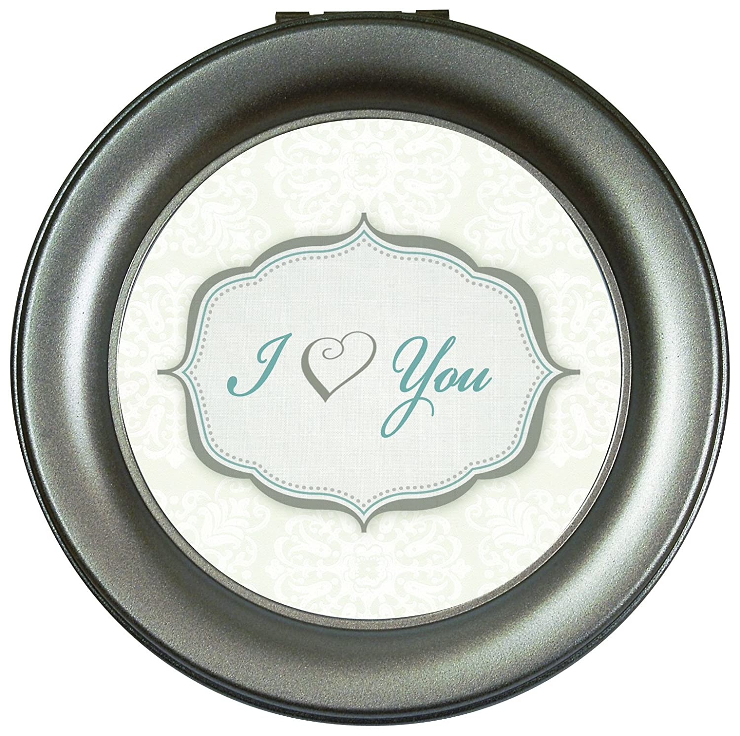 Carson Home Accents Round Music Box Heart You 18515