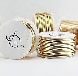 Creartejoyas Paquete De 2 Rollos De Alambres #18 Jewelry Wire, Alambre De Bisuteria