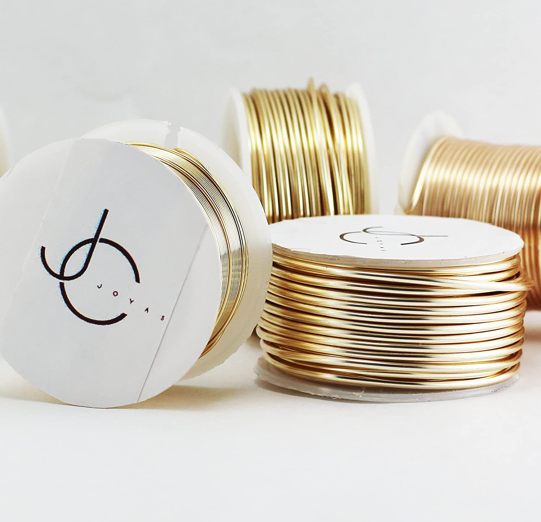 Amazon.com: Paquete De 2 Rollos De Alambres #20 Jewelry Wire, Alambre De Bisuteria