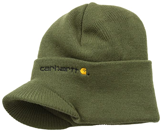 Carhartt Men s Knit Hat with Visor  Amazon.ca  Clothing   Accessories c235b47c51e6
